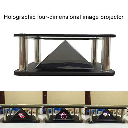 Soulpoint - Proyector holográfico 3D piramidal, Imagen Tridimensional para teléfono móvil