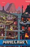 Trends International - Póster de cubeta de Minecraft (57 x 86 cm), versión sin Marco, Multicolor, 22' by 34', 1