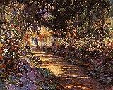 Pintura Por Números Para Adultos Diy Pintura Al Óleo Kit,Jardín Morado Diy Conjunto Completo De Pinturas Para El Hogar Colorid Gato Sin Marco 40 X 50 Cm