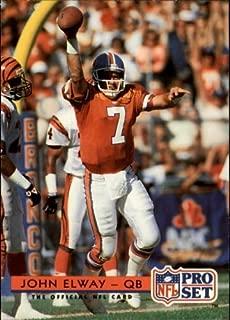 1992 Pro Set #155 John Elway NFL Football Trading Card