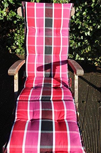 Sun Garden Relax Auflage Naxos Dessin 10438-330 174x50x6cm (ohne Stuhl)