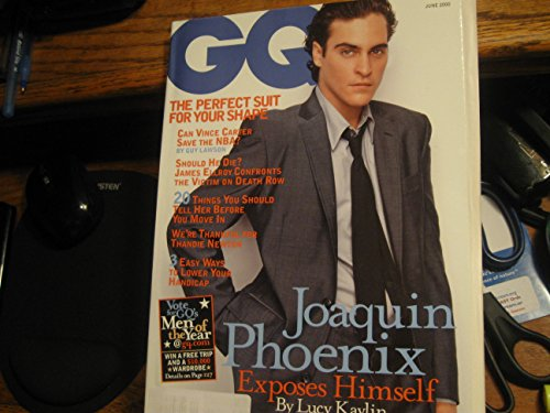 GQ Magazine (Estella Warren , Silicon Valley , NBA , The Foo Fighters, May 2000)