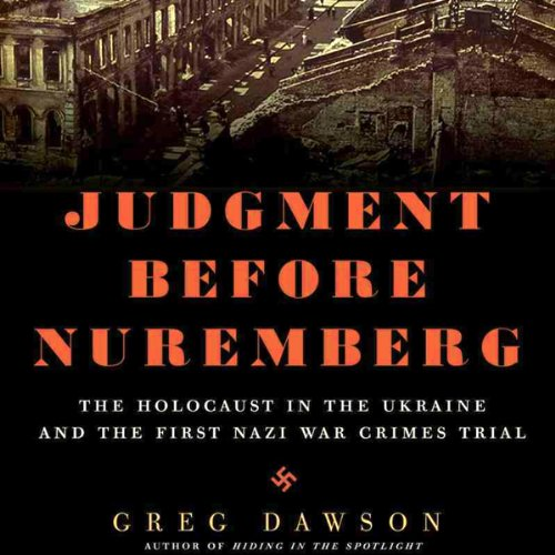 Judgment Before Nuremberg  By  cover art