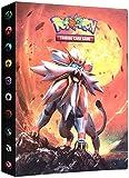 Álbumes Compatible con Cartas Pokemon, Carpeta Compatible con Cartas de Pokémon, Álbum Titular Compatible con Cartas Pokémon, 30 páginas con capacidad para 240 cartas (Sun&Moon)