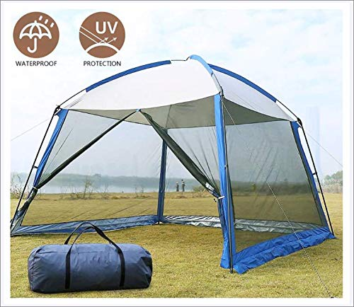 JayQm Pop Up Gazebo, Event Shelter Party Tent with Mesh Wall Sides and Storage Bag, Waterproof, UV Protection, for Gardens Camping BBQ,3.3 * 3.3 * 2.4M