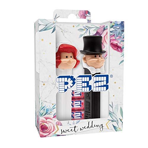 PEZ Braut & Bräutigam Twinpack (2 PEZ Spender + 4 Nachfüllpackungen)