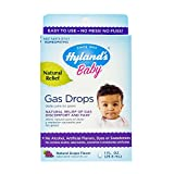 Gas Drops for Babies, Hyland's Baby, Natural Gas Relief, Grape Flavor, 1 Fl Oz
