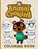 Animal Crossing Coloring Book: Animal Crossing Perfect Gift An Adult Coloring Book Designed To Relax And Calm