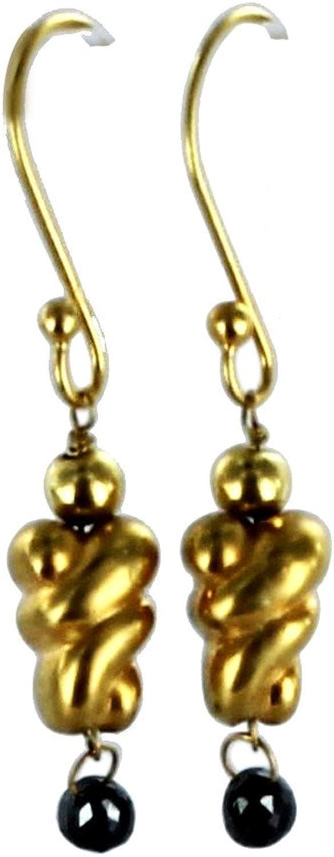 apresurado a ver 18K oro negro negro negro DIAMOND EARRINGS  la mejor oferta de tienda online