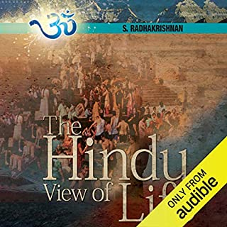 The Hindu View of Life cover art