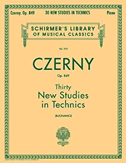 Thirty New Studies in Technics Op. 849