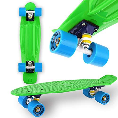 WeLLIFE Skateboard Mini Cruiser RGX Grün Skateboard 22