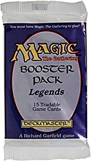 Magic the Gathering Legends Booster Pack 15 cards
