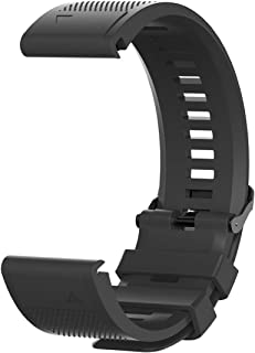 TenCloud Band Compatible with Garmin Approach S62 Washable Silicone Straps Sport Wristbands for Approach S62 S60 Golf Smar...