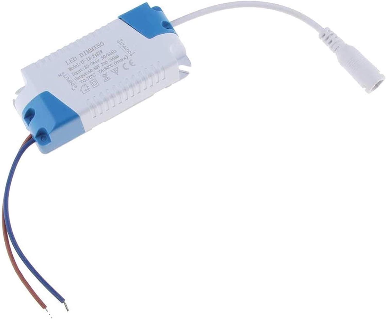 Auoeer Herramientas Dimmable LED Transformer Driver 50-80 voltio/Transformador de Transformador (18-24x1w)