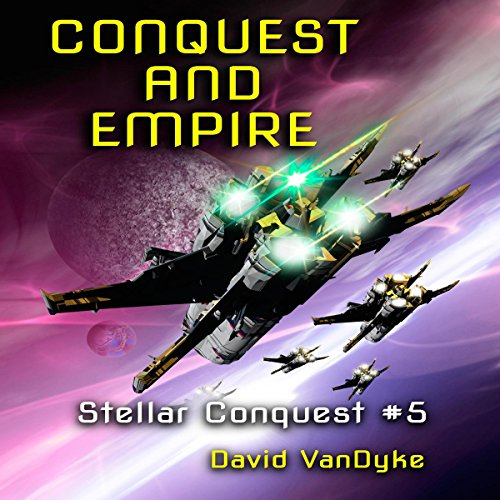 Conquest and Empire audiobook cover art
