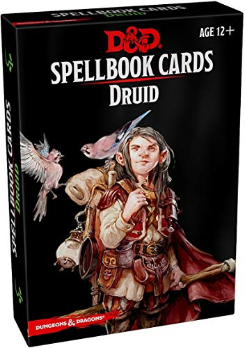 Dungeons & DragonsSpellbook Cards Druid