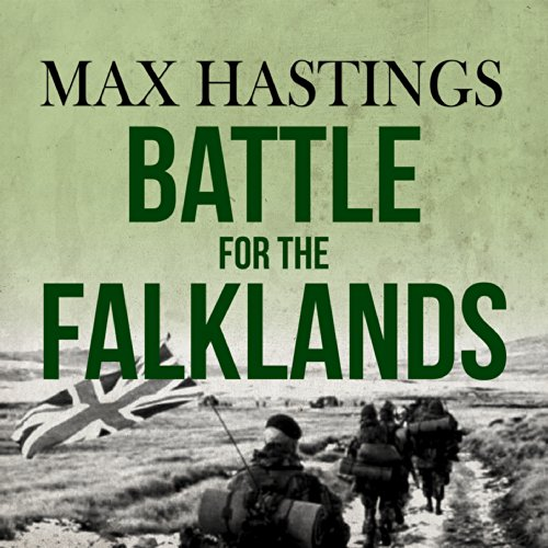 Battle for the Falklands audiobook cover art