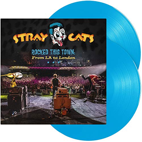 Rocked This Town : from la to London-Édition Limitée Vinyle Bleu