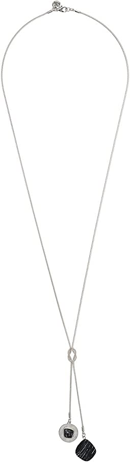 The Sak Stone Lariat Necklace 30""