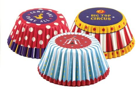 Circus Cupcake Wrappers