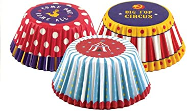 Fox Run 7127 Circus Bake Cup Set, 3 x 3 x 1.25 inches, Multicolored