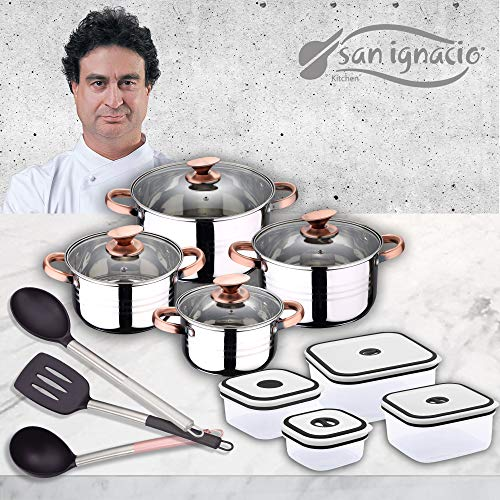 San Ignacio Premium - Bateria 4 piezas