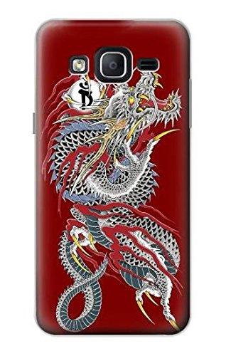 Yakuza Dragon Tattoo Hülle Schutzhülle Taschen für Samsung Galaxy On5