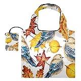 Bolsas reutilizables para la compra – Bolsas de tela reutilizables con bolsa para pájaros pequeños