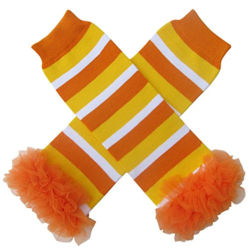 Chiffon Ruffle Halloween Costume Spooky Styles Leg Warmers - One Size - Baby, Toddler, Girl (Chiffon - http://coolthings.us