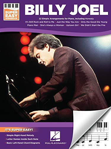 Billy Joel - Super Easy Piano Songbook