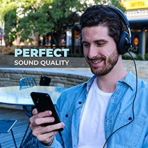 Philips SHP6000 HiFi Stereo Wired Headphone with High Resolution Audio, Deep Bass and Superior Comfort Over The Ear Headphones