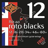 Rotosound ロトサウンド エレキギター弦 Nickel on Steel/Custom Heavy (.012-.060) R12-60