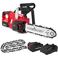 PowerSmart 12 Inch Electric Cordless Battery Powered Chainsaw