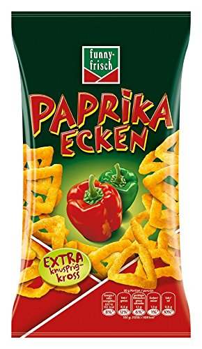 funny-frisch Paprika Ecken, 75 g