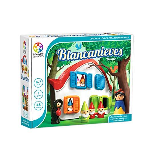 smart games- Blancanieves Deluxe, Juego de ingenio, Multicolor (Ludilo SG024ES)