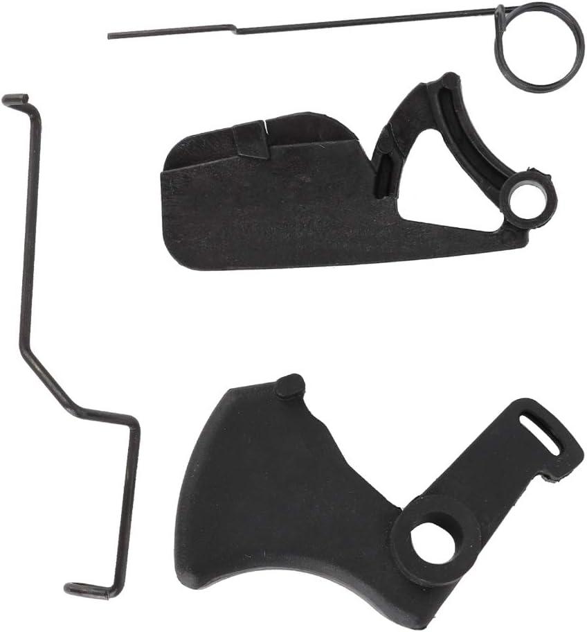 Kadimendium Palanca de Resorte hidráulica ABS Palanca accionada por Acelerador Piezas de motosierras Palanca de Seguridad para motosierras Stihl MS180 018 MS170 017