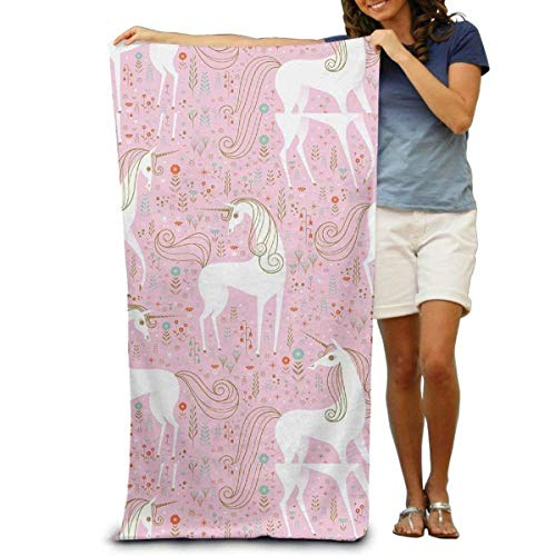 Gebrb Toallas de baño,Toalla de Playa,Manta de Playa Bath Towel Beach Towel Comfortable Quick Drying Bath Towels for Home Bathroom Pool and Gym 31x51 Inches