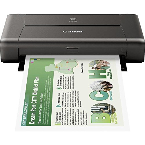 Canon Pixma iP110 Mobiele inkjetprinter, 9,600 x 2.400 dpi, USB, WLAN, Pixma Cloud-Link, Apple AirPrint Mobiele printer PIXMA iP110 1 zwart