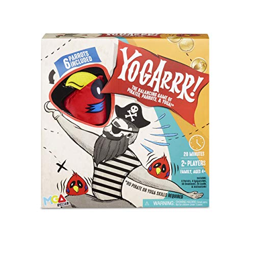 Yogarrr! Family Pirate Yoga Party Board Game