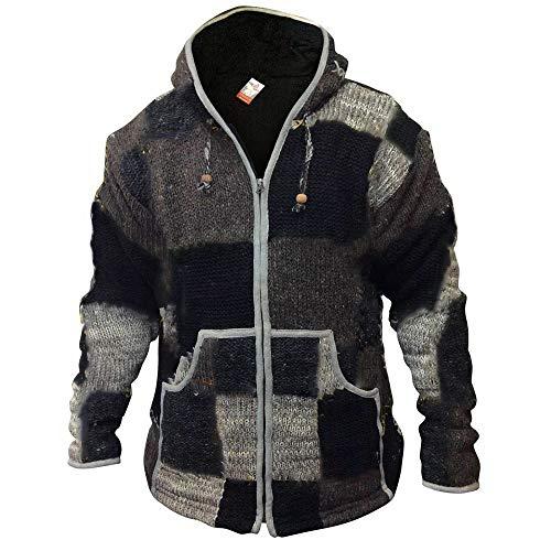 SLYZ 2020 Otoño E Invierno para Hombre Nuevo Suéter Suelto con Capucha Casual A Juego con Color Suéter Superior para Hombre