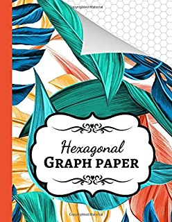 Hexagonal Graph Paper: Organic Chemistry Notebook / Journal / Workbook, 1/4 Inch Hexagons, Gifts For Chemists