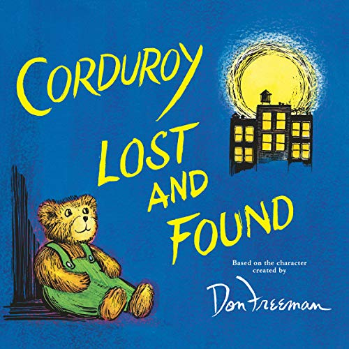 Corduroy Lost and Found audiobook cover art