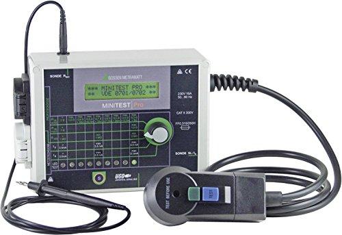 Gossen Metrawatt MINITEST Pro Tester VDE DIN VDE 0701-1:2000 und DIN VDE 0702: 2004