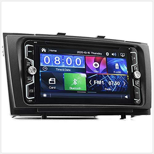 17,8 cm Avensis T270 Lecteur DVD de Voiture Radio Head Unit Kit USB Façade d'autoradio stéréo