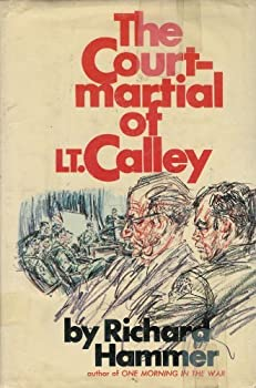 Hardcover The court-martial of Lt. Calley Book