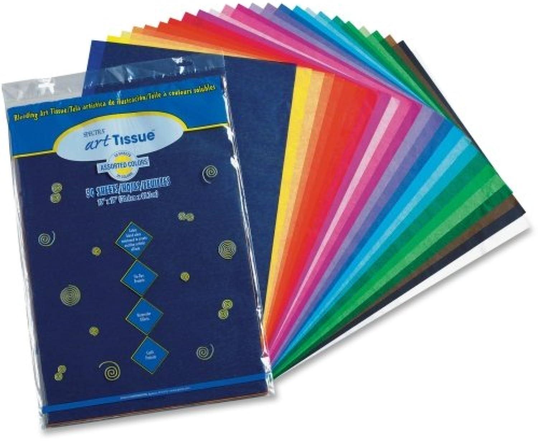 Spectra Art Tissue, 10 lbs., 12 x 18, 10 Assorted Assorted Assorted Farbes, 50 Sheets Pack B00006IDZ6 | Langfristiger Ruf  0b7fa2