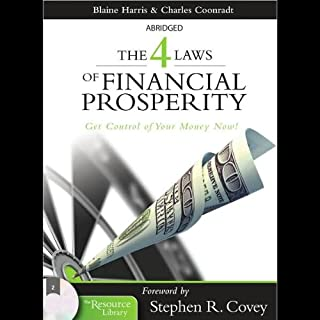 The 4 Laws of Financial Prosperity audiobook cover art