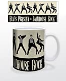 Tazza da 325 ml, motivo: Elvis Jailhouse Rock