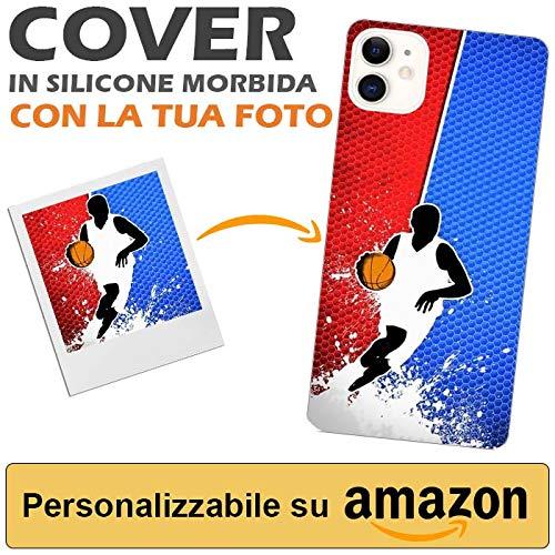 TheBigStock - Carcasa personalizada para iPhone 11 con imagen o frase - Carcasa para Apple iPhone 11 de silicona blanda de TPU - Carcasa iPhone 11 compatible con impresión UV